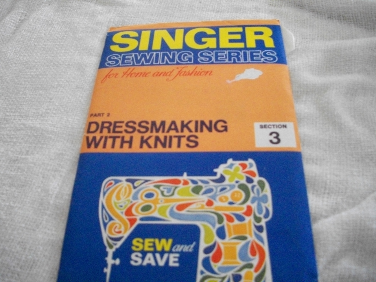 Primary image for Singer Sewing Series~Dressmaking With Knits 2