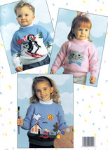 MORE KID STUFF *5 KNITTED SWEATERS UP TO SIZE 10 BOYS & GIRLS 2544 LEISU... - $9.98