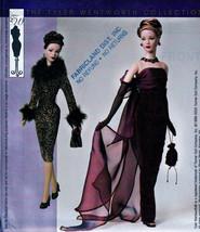 "Tyler Gene Madra 15.5""  Fashion Doll Sewing Pattern Mc Call 3845 Uncut Mint Oop - $19.98"