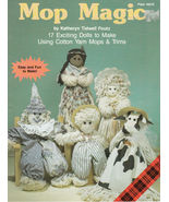 MOP MAGIC 17 DOLL PATTERNS ANGEL CHILDREN BABY CLOWN COW INDIAN + PLAID ... - $8.98