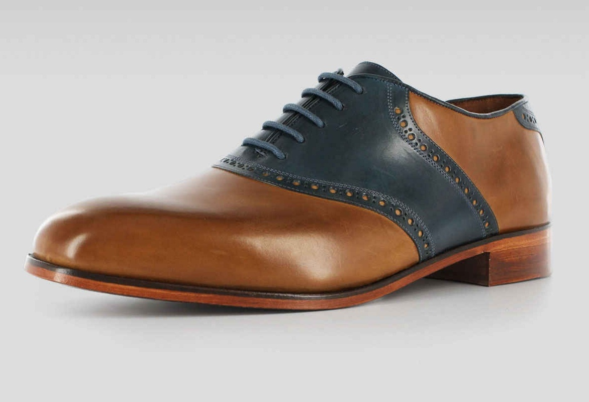 Two Tone Shoes Mens
