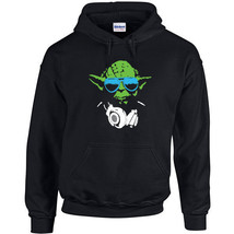 172 DJ Yoda Hoodie star funny music wars jedi vader geek new All Sizes/Colors - $30.00