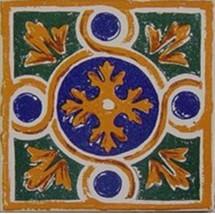 Antique A5 Decorative Mexican Talavera Ceramic ... - $19.99