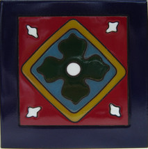 "Old California TOC-10 Decorative Mexican Ceramic Tile 6"" x 6"" - Set of T... - $24.99"