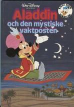 Disney Aladdin Och Den Mystiske Vaktposten 1982 Swedish Children's Book ... - $16.82