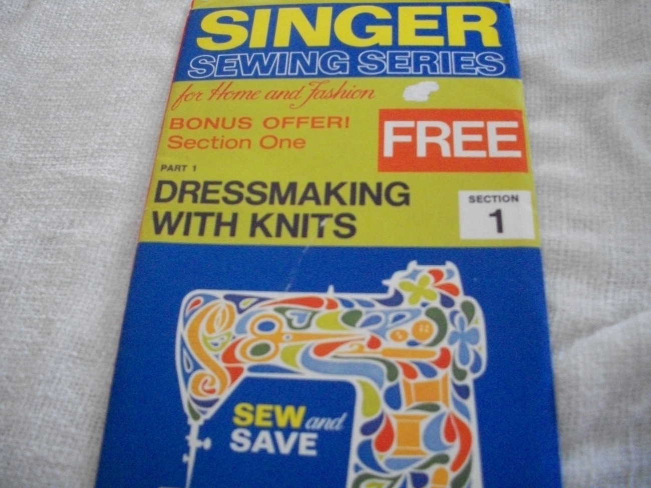 Primary image for Singer Sewing Series~Dressmaking with Knits 1