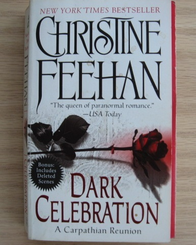 LOT OF 6 CHRISTINE FEEHAN PARANORMAL ROMANCE NOVELS #028