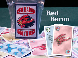 Red Baron Limited Edition Card Game - $12.00
