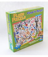 Floor Jigsaw Puzzle Find It First!  24 Huge Pieces for Small Hands  Ages... - $9.99