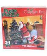 Floor Puzzle Santa Christmas Eve  24 Huge Pcs. for Small Hands  Ages  5+... - $9.99