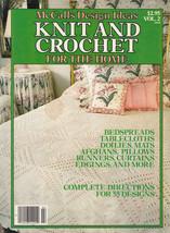 Vol 2 Knit & Crochet Mccall's Afghans Bedspreads Tablecloths Doilies Pillow Mats - $11.99