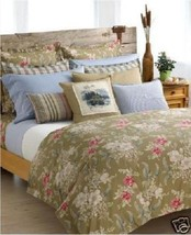Ralph Lauren BOATHOUSE FLORAL 7P Queen Duvet Co... - $433.15