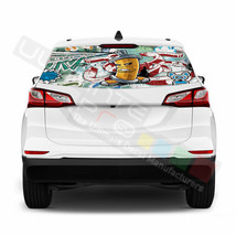 Sticker Bomb skin Rear Window See Thru Stickers Perforated for Chevrolet... - $59.80