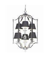 Hampton Bay Elora Collection 6-Light Chrome Lantern - $323.72