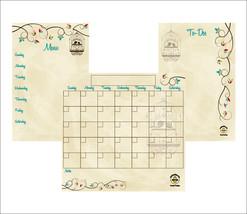 Family Planner, Fridge Calendar, Home Organization. - £21.58 GBP