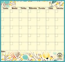 Mother's Day Gift, Dry Erase Calendar, Magnetic Calendar Command Center. - $19.99