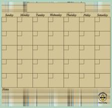 Dry Erase Calendar, Magnetic Calendar, Command Center. - $19.99