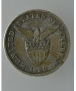 U.S Philippines 1928-M,  MULE 20 Centavos Silve... - $40.00
