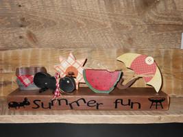 Summertime wood display - $34.95