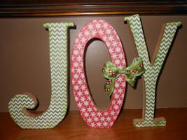 Joy Letter Set.. Christmas Decorations - $30.95