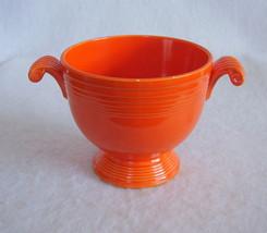 Vintage Fiestaware Red Sugar Bowl Fiesta - $24.99