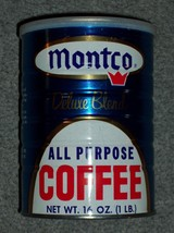 Vintage Early 1970s MONTCO 1 Pound Size All Pur... - $21.06