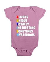 Autism Baby Onesie *#Autism* Baby Clothes Baby Shower Gifts Cute Baby Creepers  - $15.00