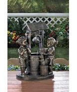 Water Fountain Children at Wishing Well - $138.00