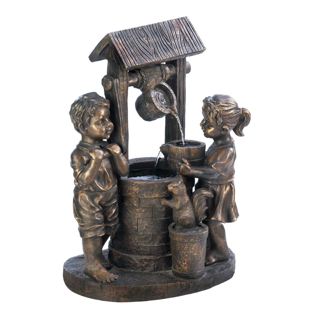 Wishing well lawn ornament - 1 Of 2