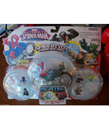 Marvel Ultimate Spider-Man Fighter Pods Spider Cycle Launcher Pack Serie... - $29.05