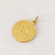 Vintage Jewelry 12K GF Pisces Charm Pendant - $5.99