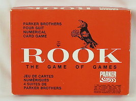 ROOK 1963 Red Box Card Game Parker Brothers 100% Complete Near Mint - $37.17