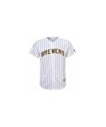 Jonathan Lucroy Milwaukee Brewers Youth MLB Majestic White Alt Cool Base... - $44.55
