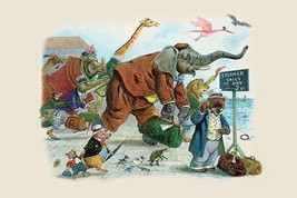 The Bear's new watch was all wrong, Alack! by G.H. Thompson - Art Print - $19.99+