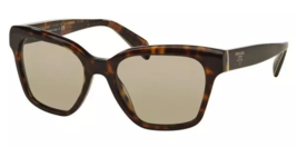 New Prada Sunglasses PR11SS 2AU 5J2 56MM Havana/Gradient Grey for Women - $376.20