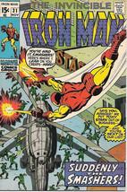 Iron Man Comic Book #31, Marvel Comics 1970 VERY FINE - $22.17