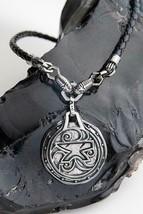Skyrim The Elder Scrolls Amulet of Zenithar Brass Necklace Pendant Figur... - $178.15