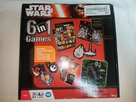 Star Wars 6-in-1 Games - $10.00
