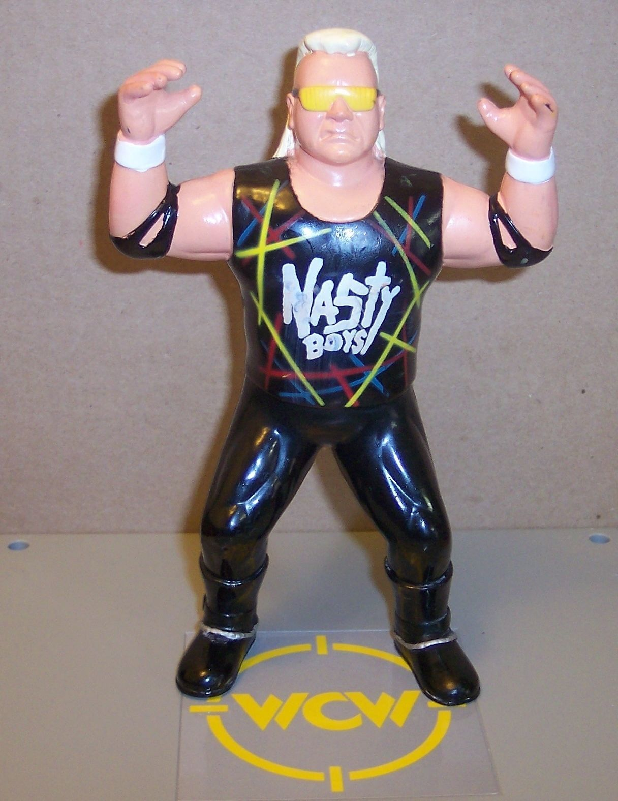 "Primary image for ""Nasty Brian Knobs"" WCW OSFTM Collectible Wrestlers Action Figure WWE WWF [1852]"