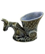 Wade Irish Porcelain early donkey with cart C33... - $35.00