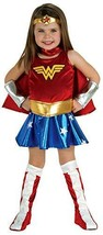 Rubie's 885368 Girls Toddler 2-4 Wonder Woman Costume - $33.88