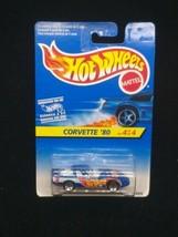 Hot Wheels Corvette '80 4/4 Die-Cast Car Foreign Card Variant - $8.90