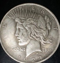 1923-S PEACE DOLLAR - CIRCULATED - $23.00