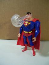 NWOB DC SUPER HEROES SUPERMAN ACTION FIGURE JL 2006 FREEZING BREATH MATTEL - $9.75
