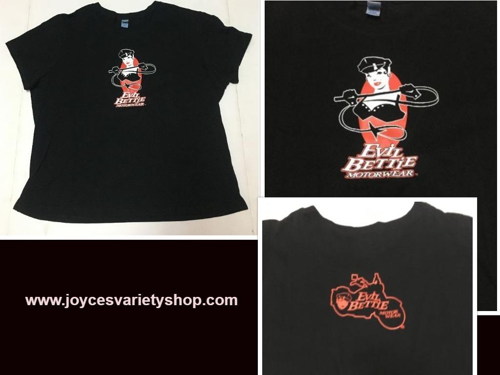 Evil bettie motor wear shirt web collage