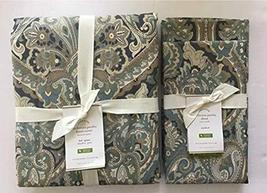 Pottery Barn Mackenna Paisley Duvet Full/Queen & Two Standard Shams ~Blue~ - $127.71