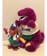Dakin Plush Barney The Purple Dinosaur Stuffed Animal & Bank 1992 Lyons ... - $27.99