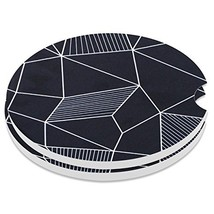 """Car Coasters Pack of 2, Small 2.56"""" Stone Car Cupholder Absorbent Coaste... - $12.85"""