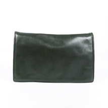 Vintage Bottega Veneta Leather Flap Clutch - £255.01 GBP