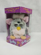 Furby Leopard Pink & Gray with Black Spots Brown Eyes 1998 #70-800 New I... - $64.60